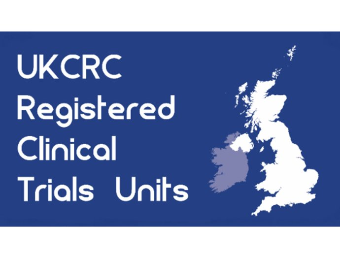Picture of the UKCRC Registered clinical trials unit stamp