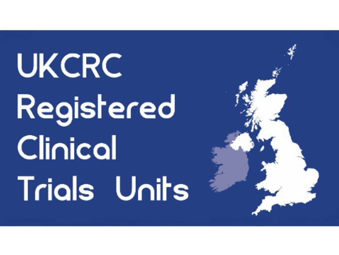 UKCRC Registered Clinical trials unit stamp