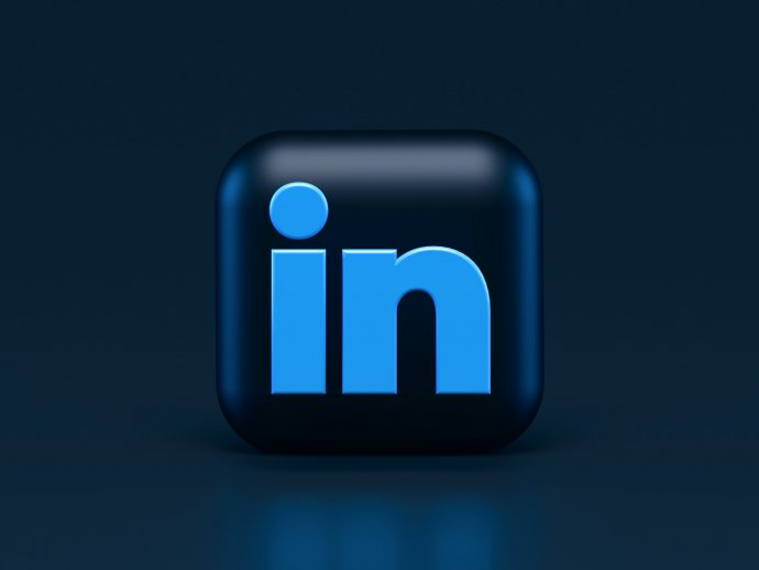 Picture of the linkedin logo