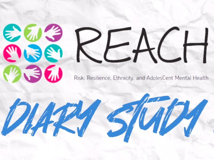 REACH logo and text saying REACH Diary Study